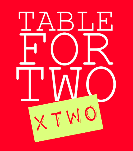 Table for 2 x 2