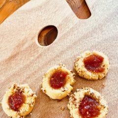 Tomato Jam & Cornmeal Cookies.
