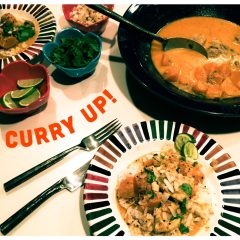 Chicken Curry with Sweet Potatoes and Coconut Milk